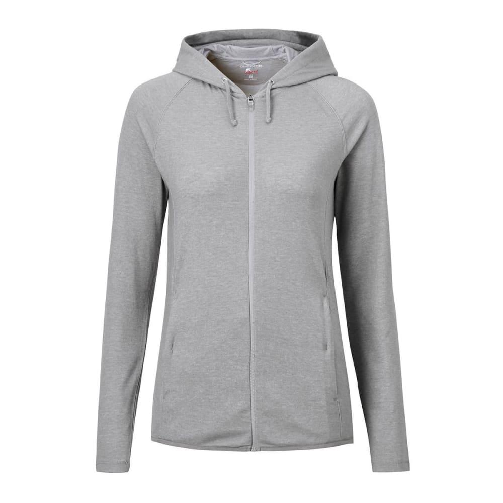 CRAGHOPPERS Women's NosiLife Sydney Hooded Jacket - SOFT GREY MRL-3S1