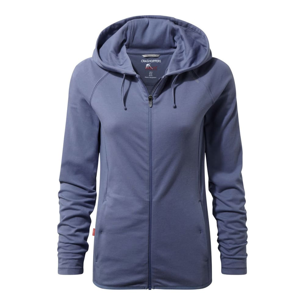 CRAGHOPPERS Women's NosiLife Sydney Hooded Jacket - CHINA BLUE-H15