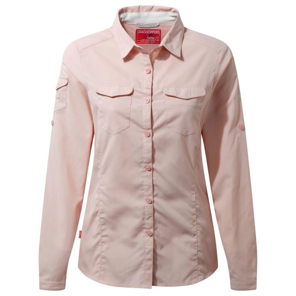 CRAGHOPPERS Women's NosiLife Adventure Long Sleeve T-Shirt - BLOSSOM PINK-71P