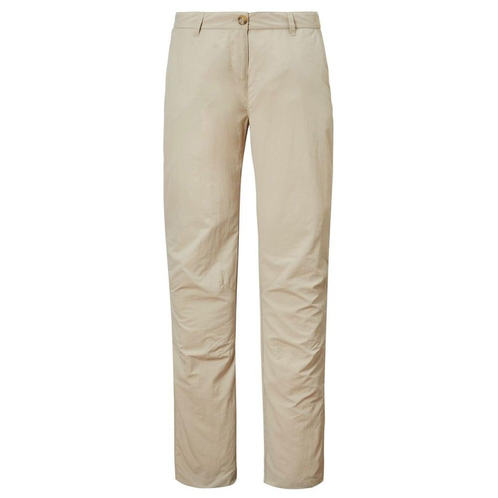 CRAGHOPPERS Women's NosiLife II Pants - DESERT SAND-694