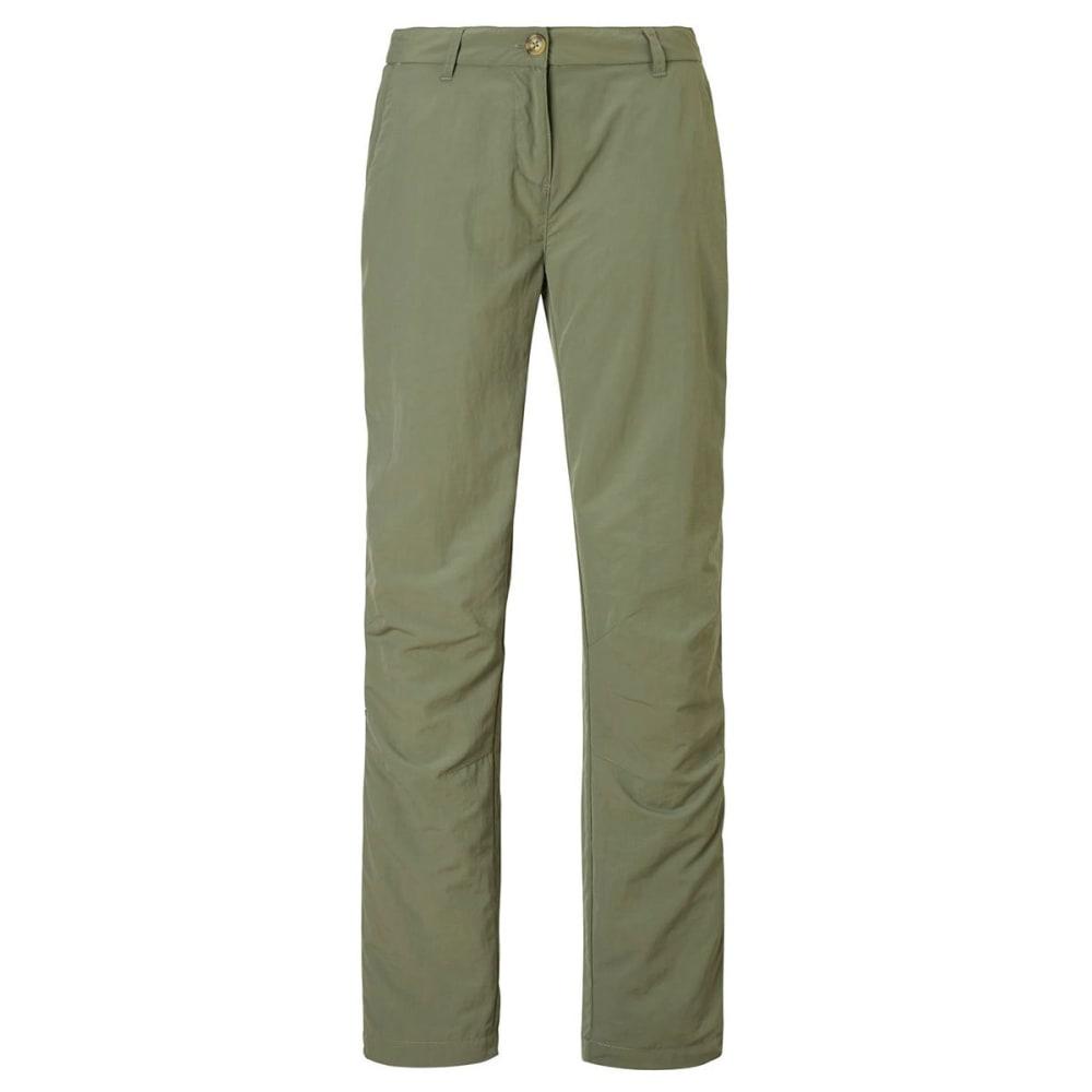 CRAGHOPPERS Women's NosiLife II Pants - SOFT MOSS-3L0