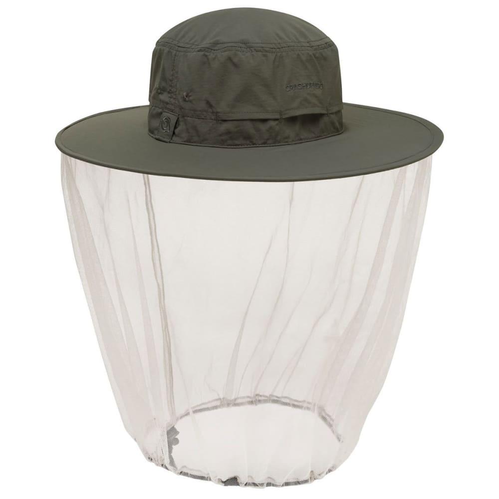 CRAGHOPPERS NosiLife Ultimate Hat - DARK KHAKI-2AT