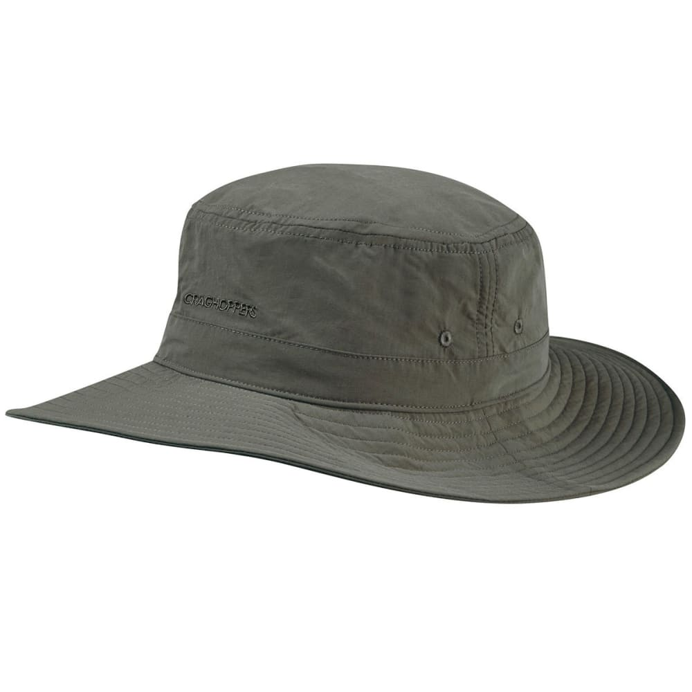 CRAGHOPPERS Men's Insect Shield Sun Hat - DARK KHAKI-2AT