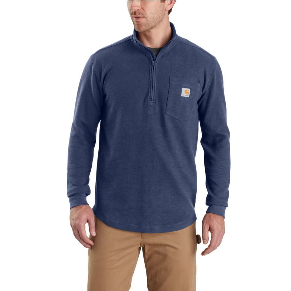 CARHARTT Men's Tilden Long-Sleeve Waffle Knit Half-Zip Pullover XL