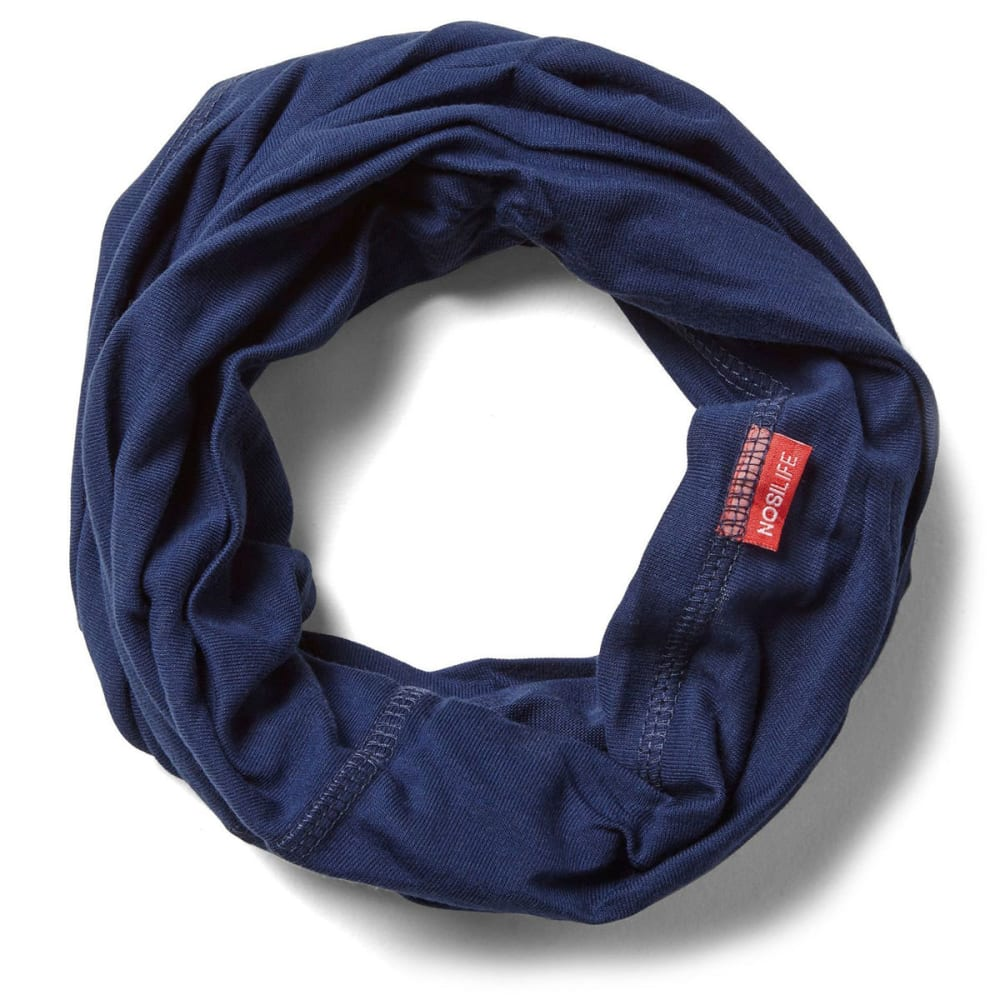 CRAGHOPPERS Women's NosiLife Tube Scarf - NIGHT BLUE