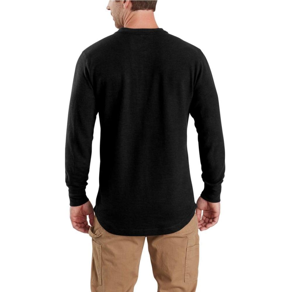 CARHARTT Men's Tilden Long-Sleeve Henley Shirt - 001-BLACK