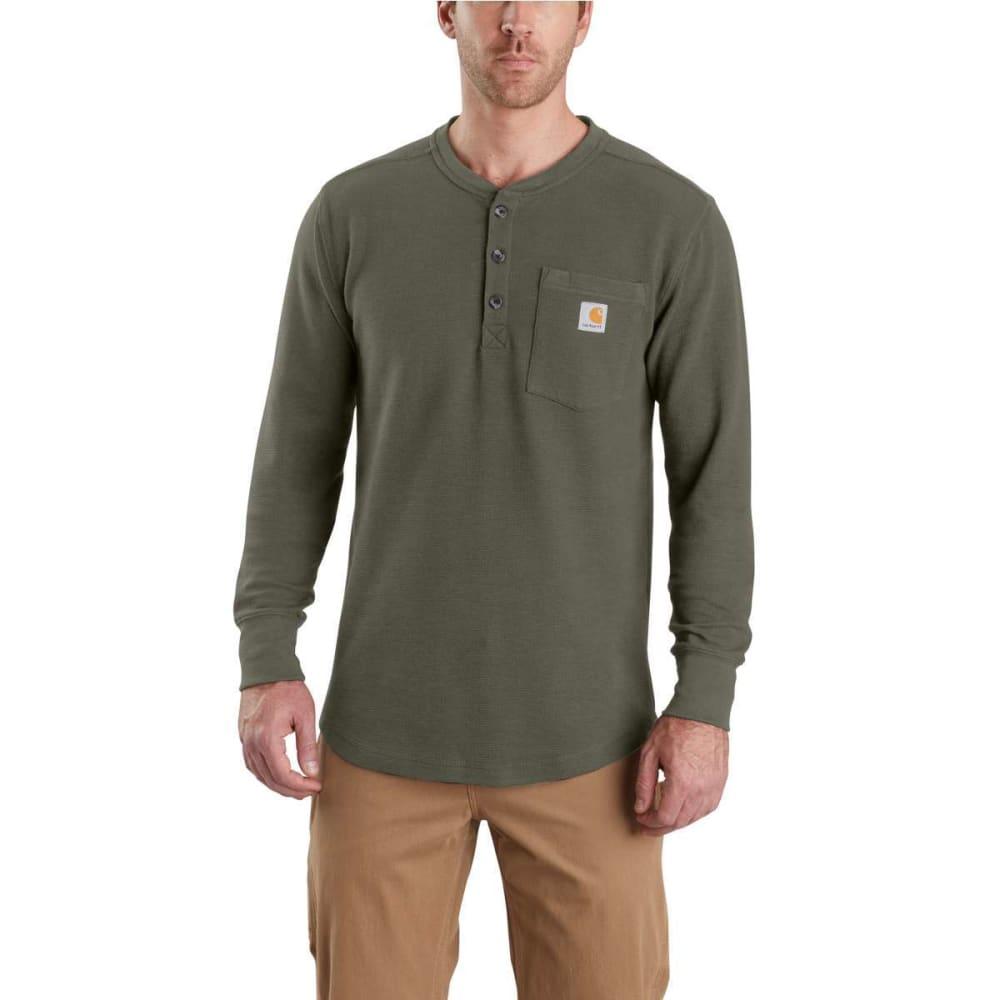 CARHARTT Men's Tilden Long-Sleeve Henley Shirt XL