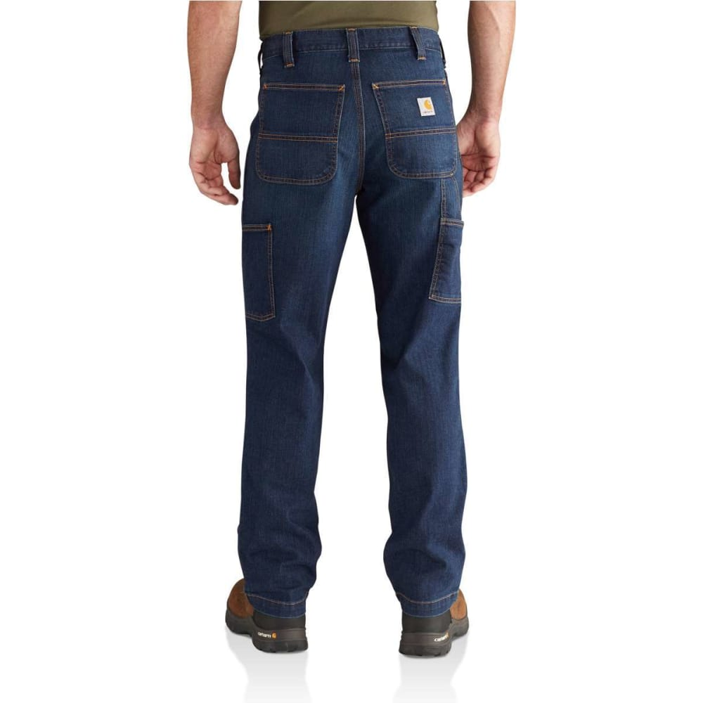 CARHARTT Men's Rugged Flex Relaxed Fit Dungaree Jeans - SUPERIOR 498