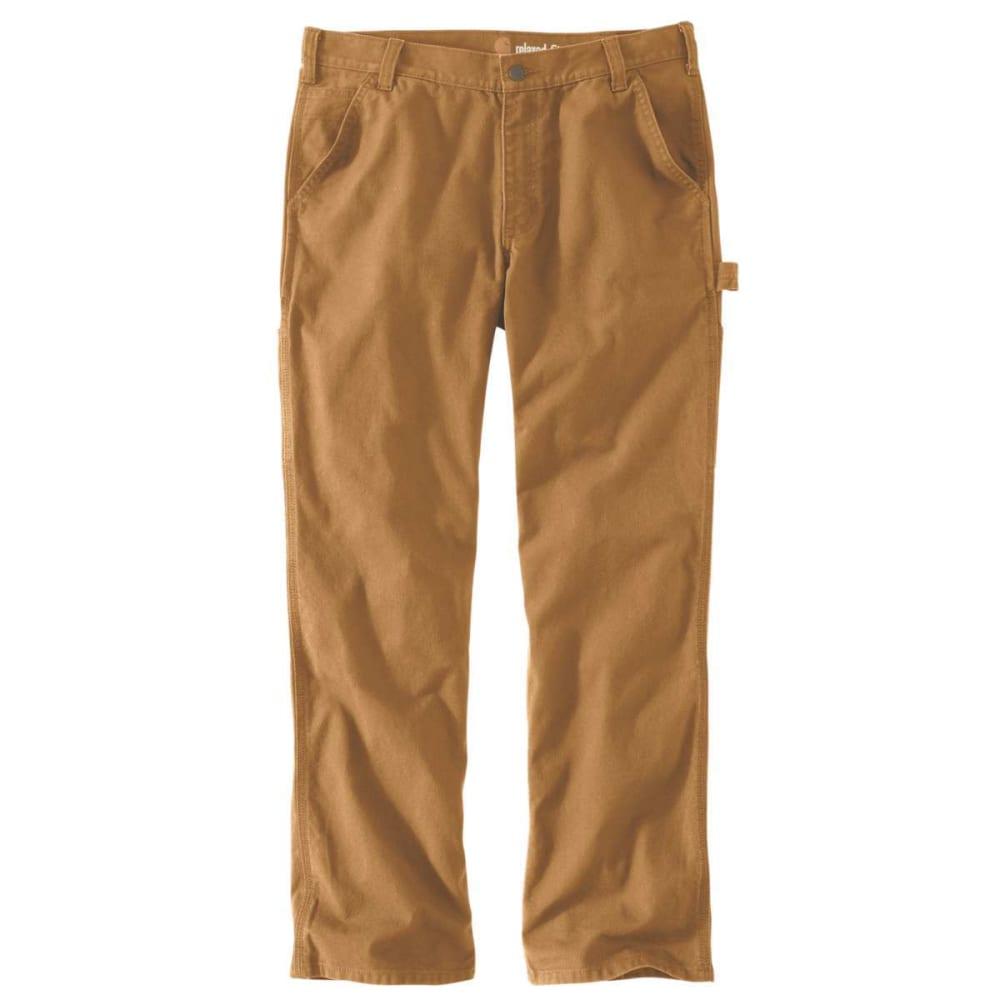 CARHARTT Men's Rugged Flex Relaxed Fit Duck Dungaree Work Pants - CARHARTT BRN 211