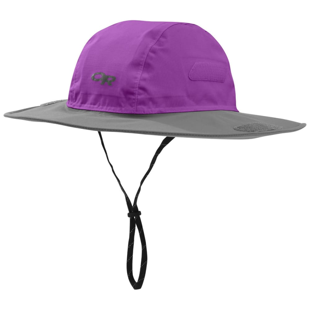 OUTDOOR RESEARCH Kids' Seattle Sombrero - ULTRAVIOLET/PEWTER