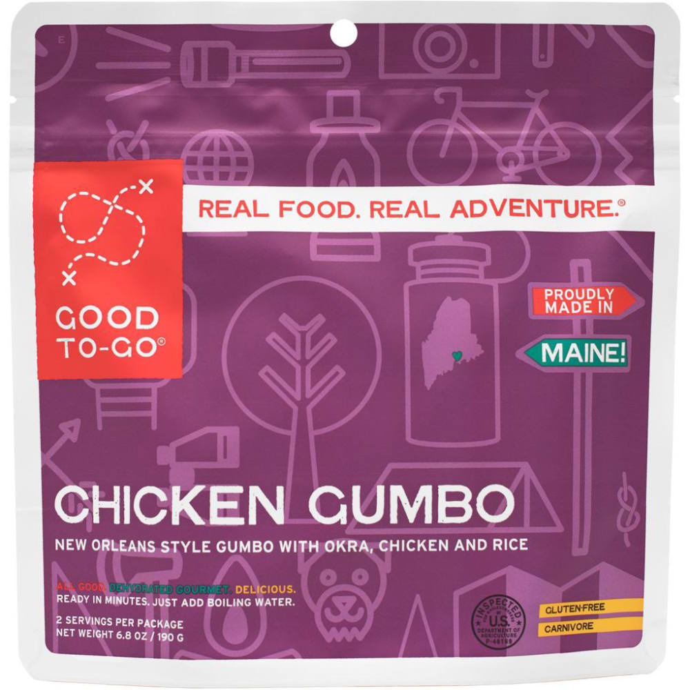 GOOD TO-GO Chicken Gumbo, Double Serving - NO COLOR