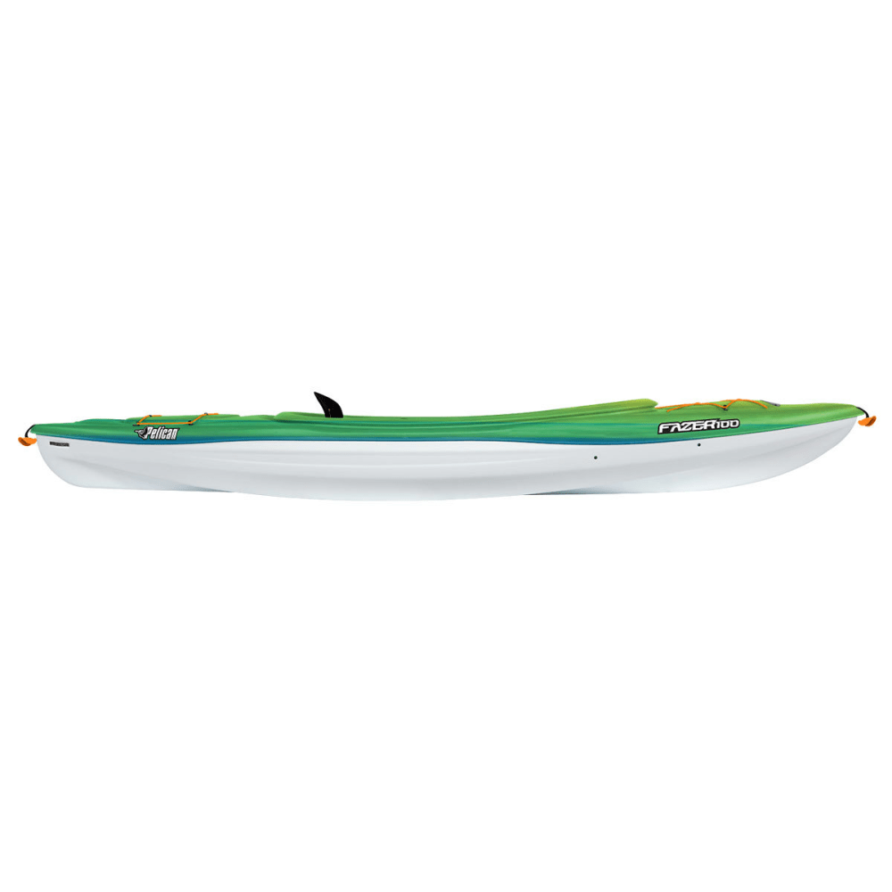PELICAN Fazer 100 Kayak - FADE ROYAL/YELLOW
