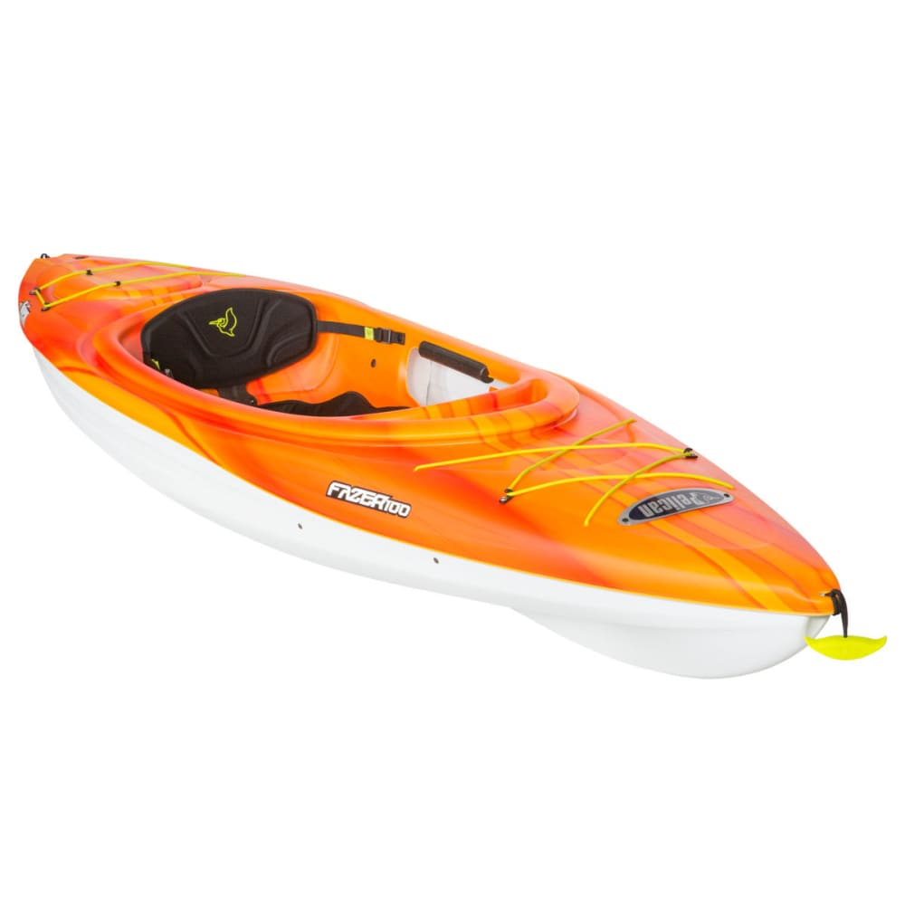 PELICAN Fazer 100 Kayak - FADE RED/YELLOW