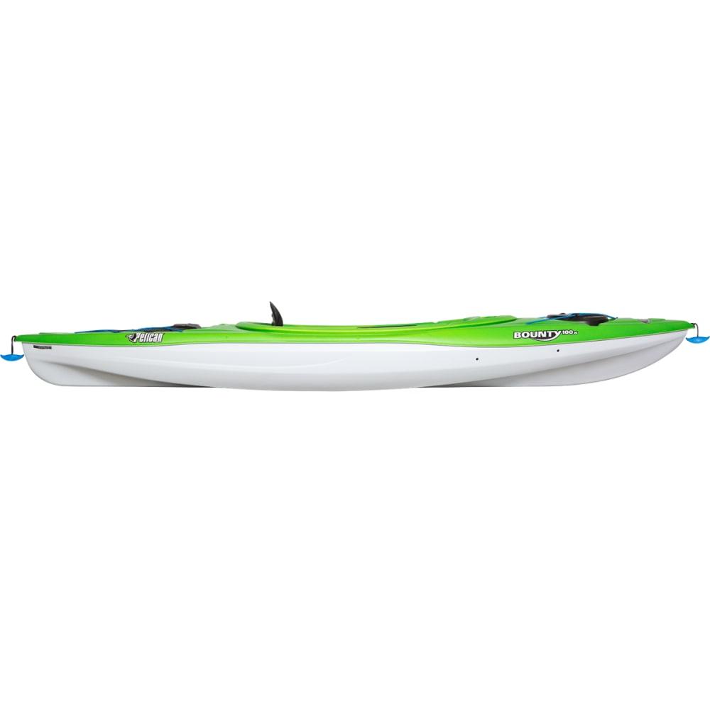 PELICAN Bounty 100X EXO Kayak - APLE GRN CITRINE/WHT