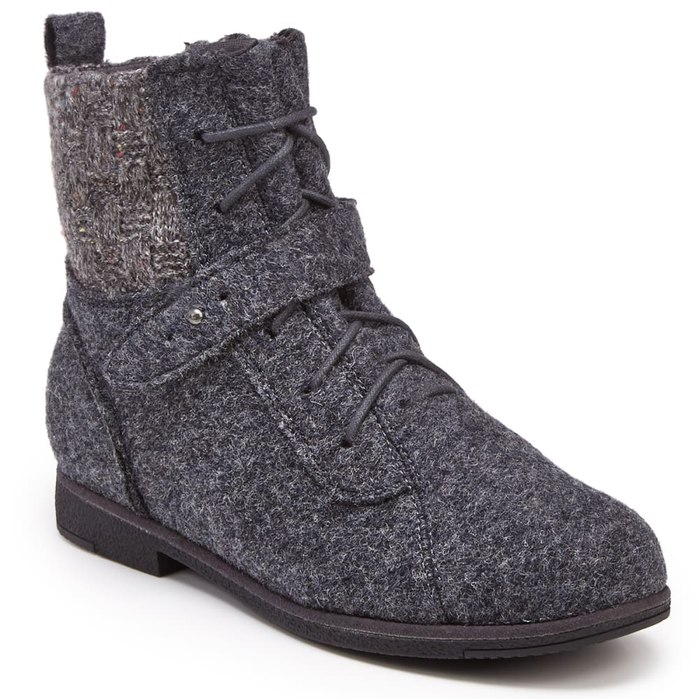 BEARPAW Women's Gramercy Lace-Up Mid Boots 6