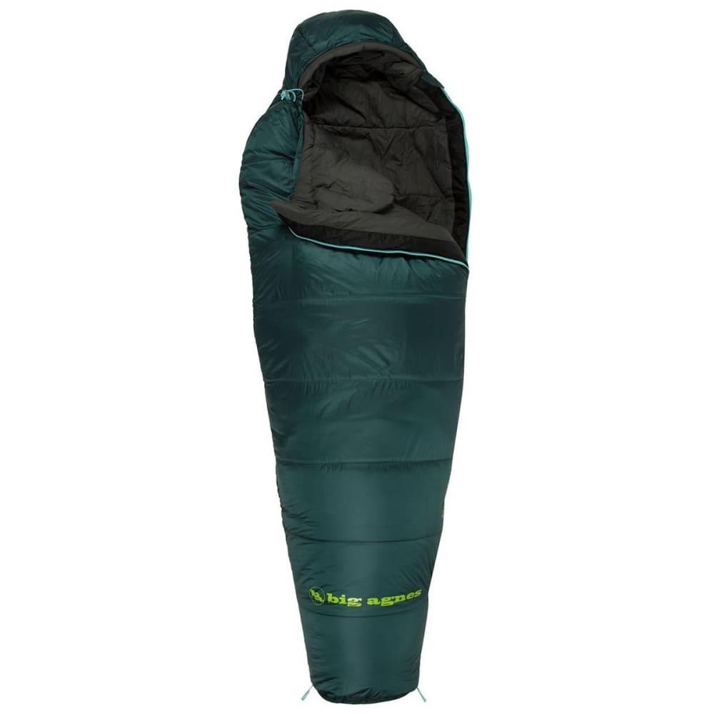 BIG AGNES Benchmark 0 Sleeping Bag, Regular - GREEN