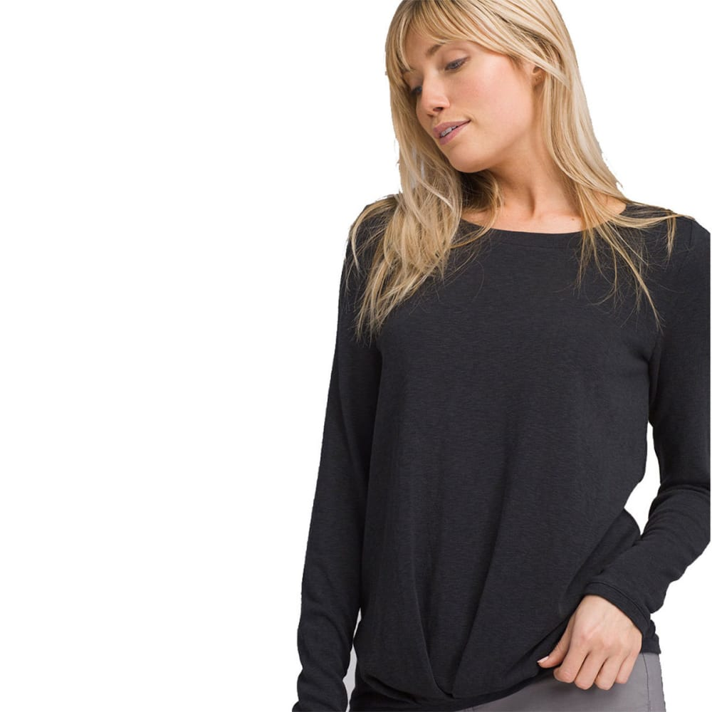 PRANA Women's Frosene Long-Sleeve Top - CHARCOAL