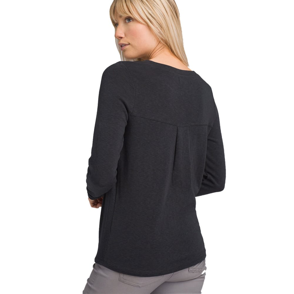 PRANA Women's Frosene Long-Sleeve Top - CHARCOAL