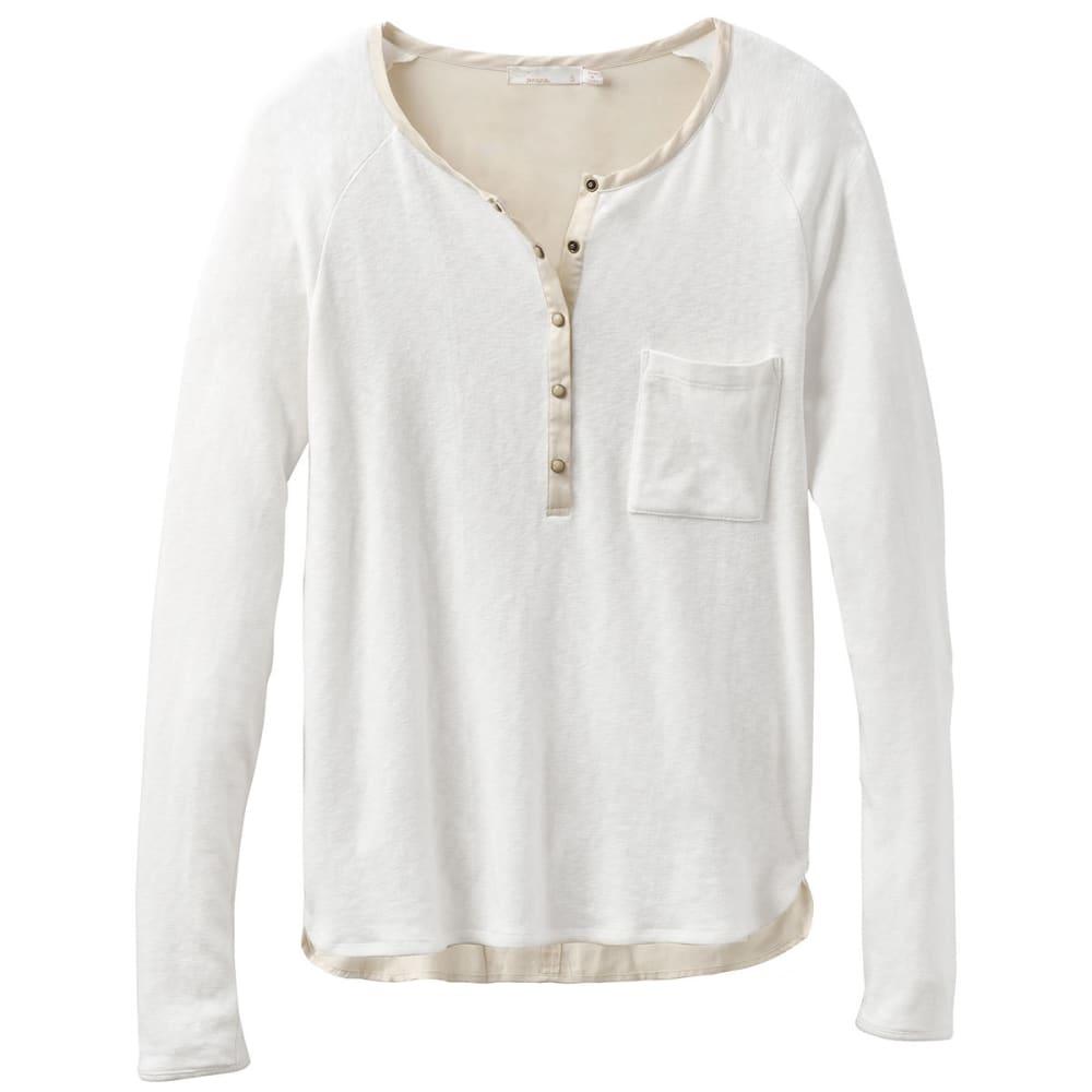 Prana Women's Hensley Long-Sleeve Henley Top - Size XL