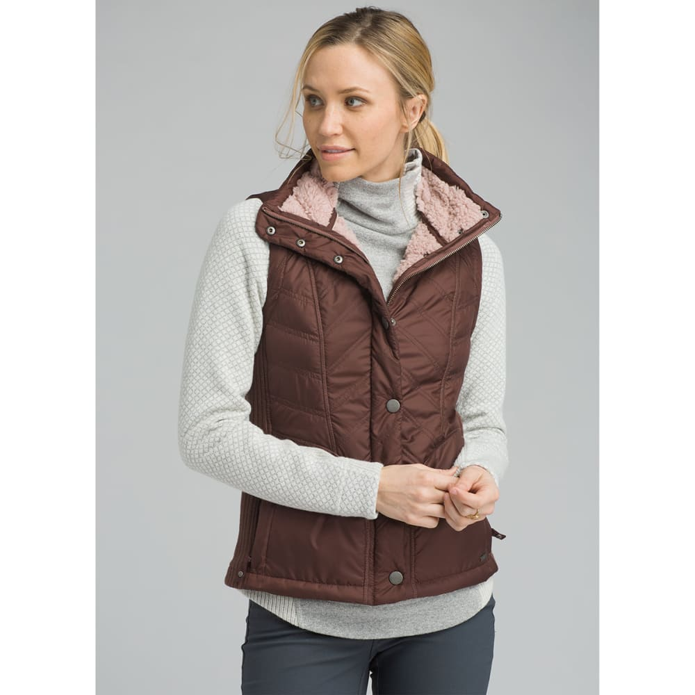 PRANA Womens Diva Vest - WEDGED WOOD
