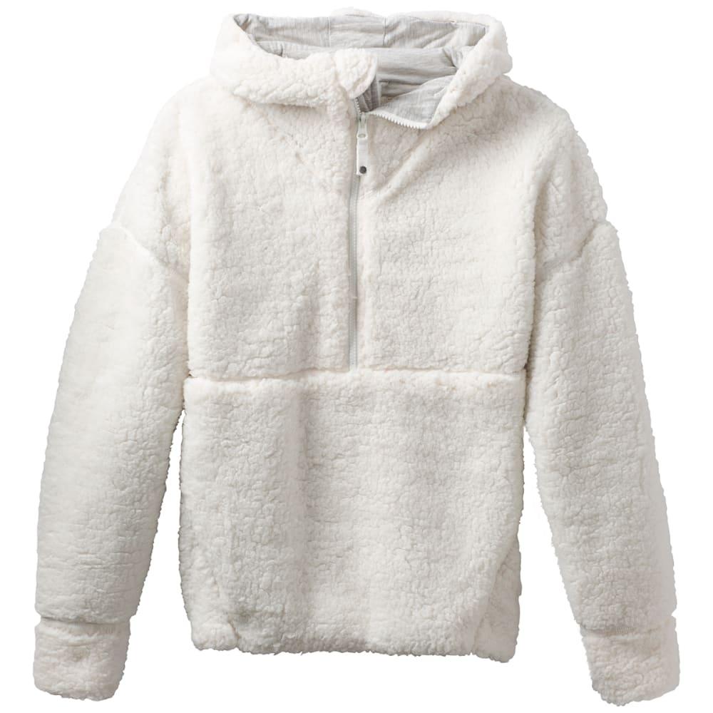 PRANA Women's Permafrost Half-Zip Pullover Hoodie - BONE