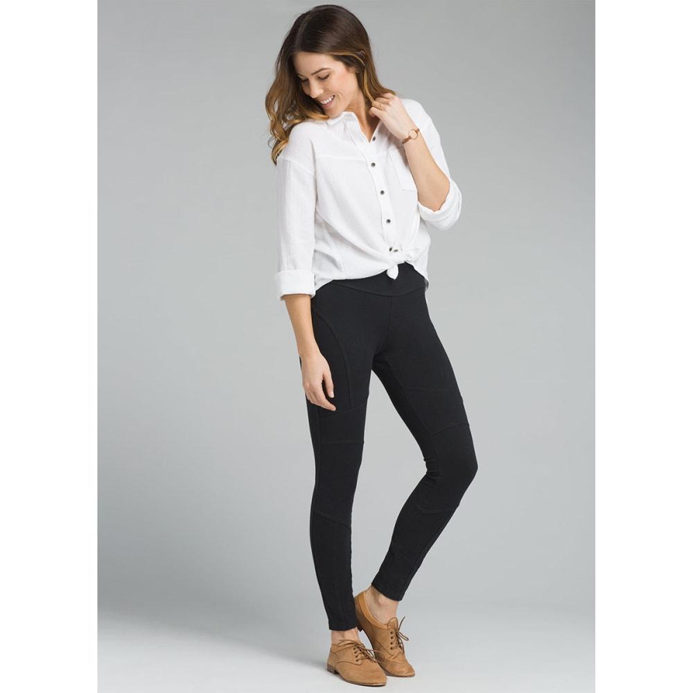 PRANA Women's Beaker Pants - BLACK