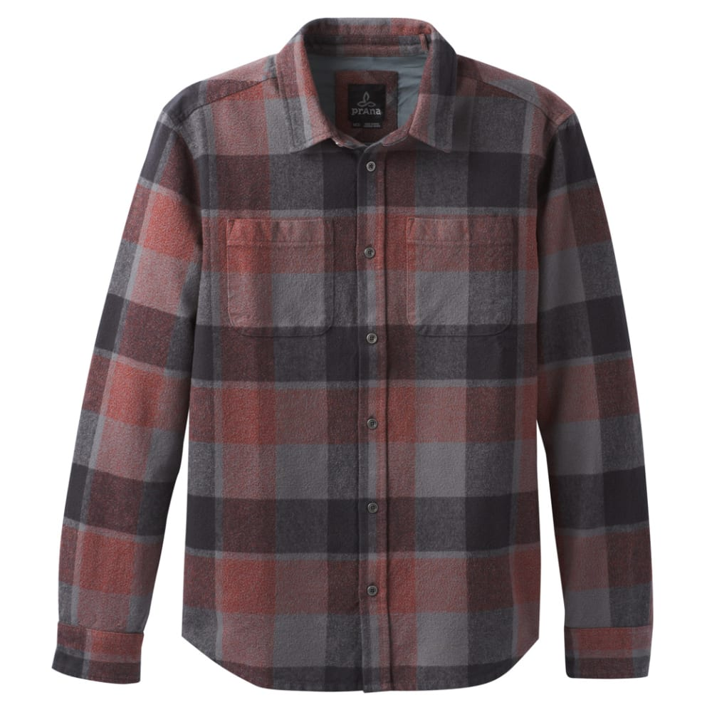 PRANA Men's Brayden Long-Sleeve Flannel Shirt M