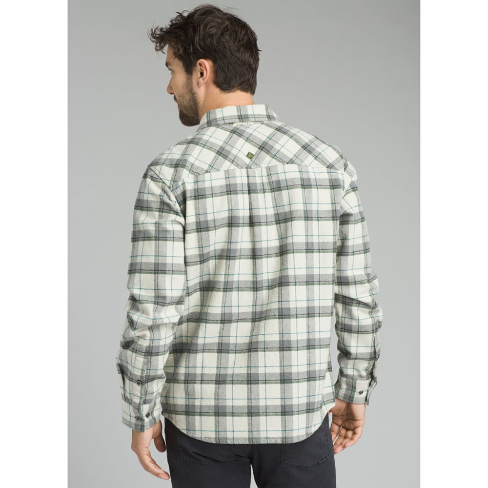 PRANA Men's Brayden Long-Sleeve Flannel Shirt - WINTER