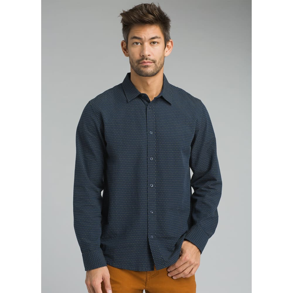 PRANA Men's Graden Long-Sleeve Shirt - NAUTICAL