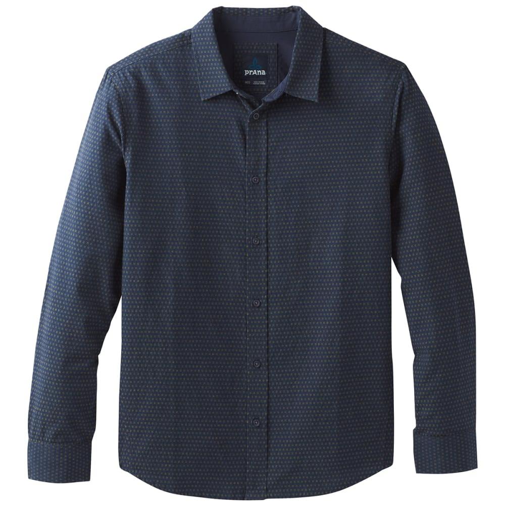 PRANA Men's Graden Long-Sleeve Shirt - NAUTICAL