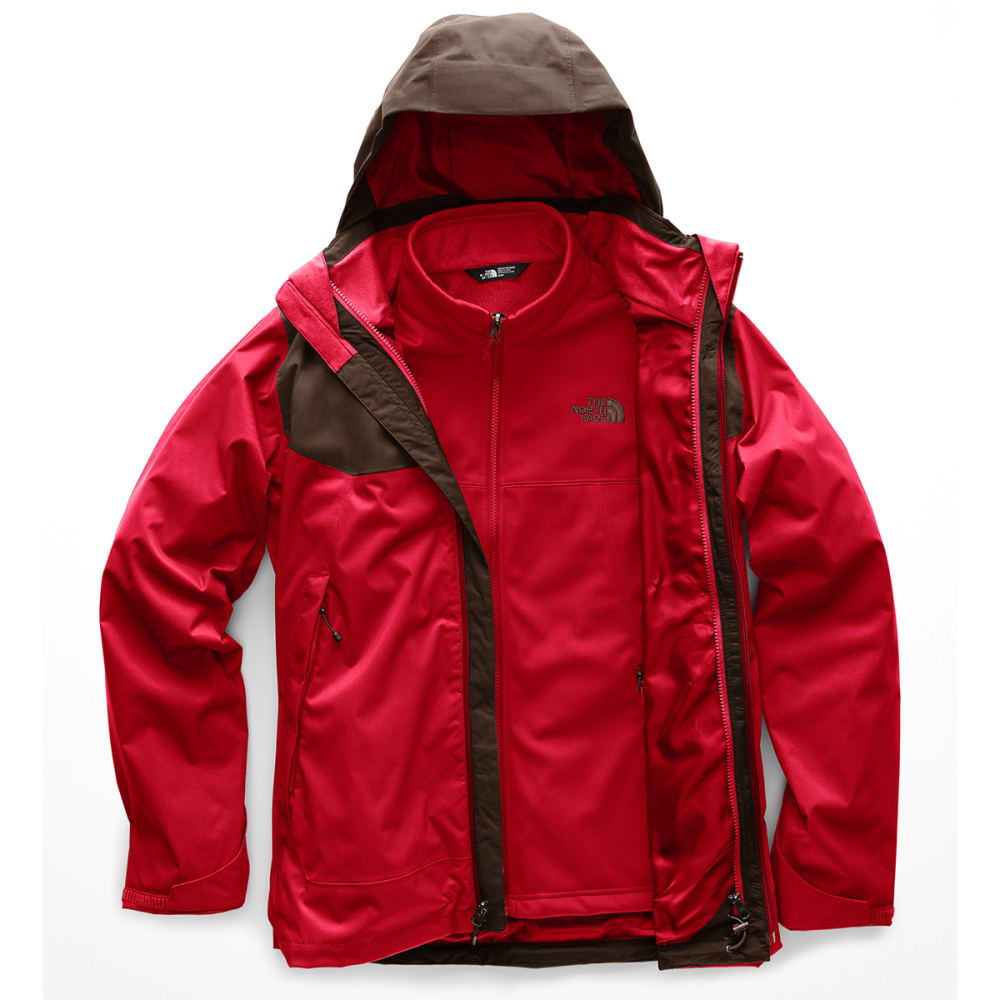 THE NORTH FACE Men's Apex Risor Triclimate Jacket - 6KY RAGE RED