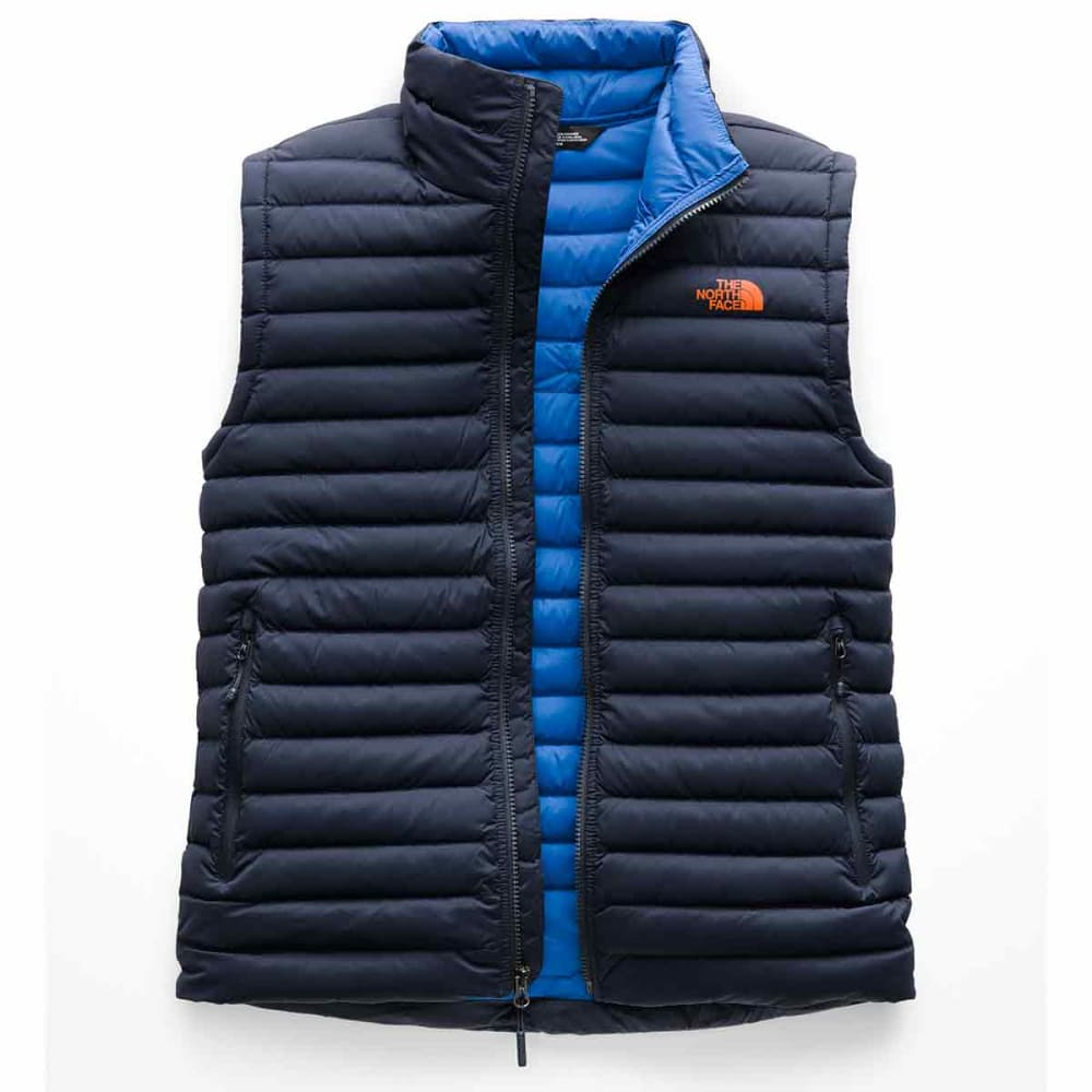 THE NORTH FACE Men's Stretch Down Vest - 1SB-URBAN NAVY