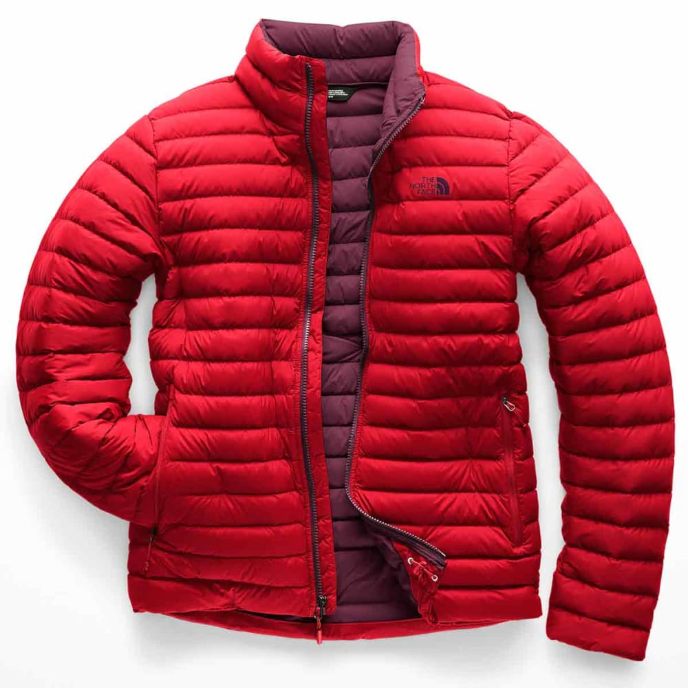 THE NORTH FACE Men's Stretch Down Jacket - 5PL RAGE RED
