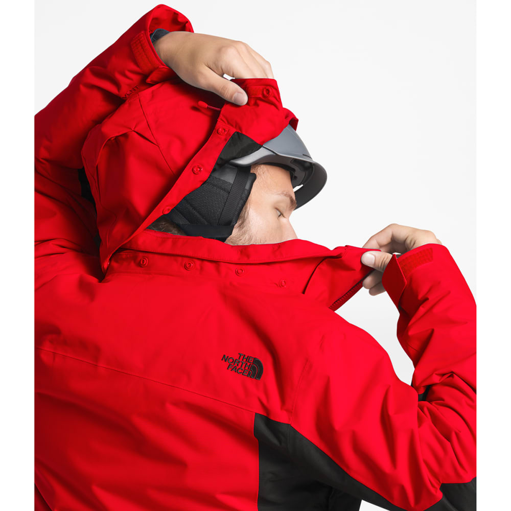 THE NORTH FACE Men's Clement Triclimate Jacket - WU5 FIERY RED