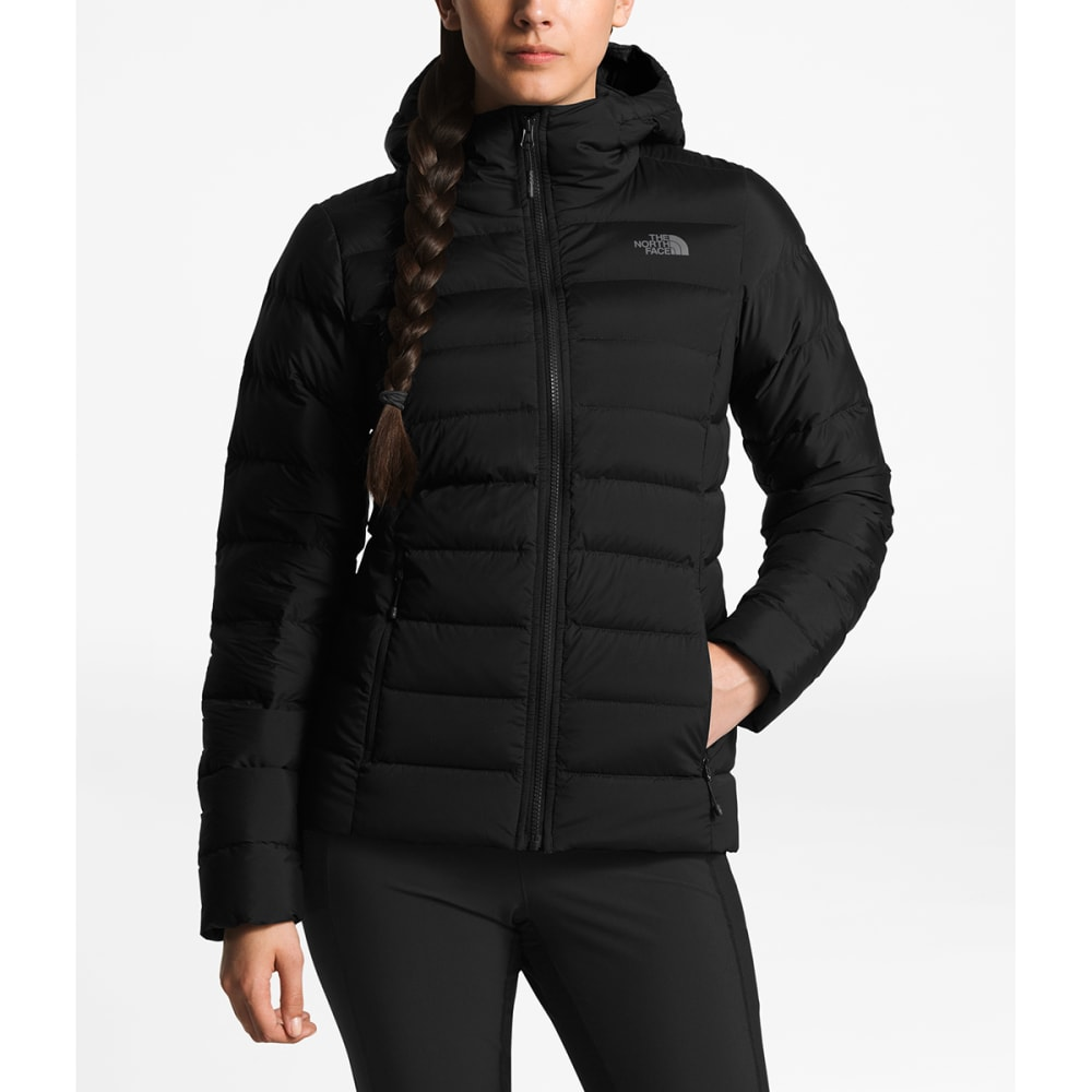 THE NORTH FACE Women's Stretch Down Hoodie - JK3-TNF BLACK