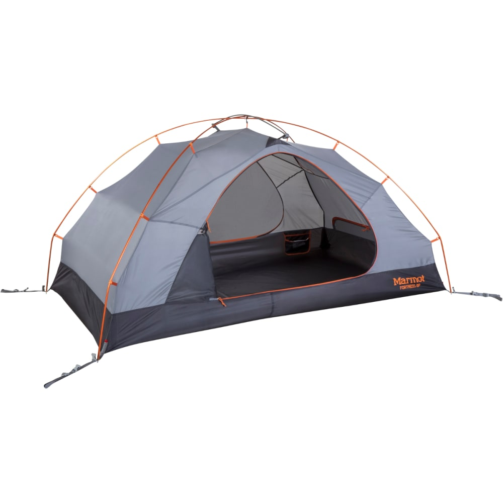 MARMOT Fortress 2P Tent - TANGELO/GREY STORM