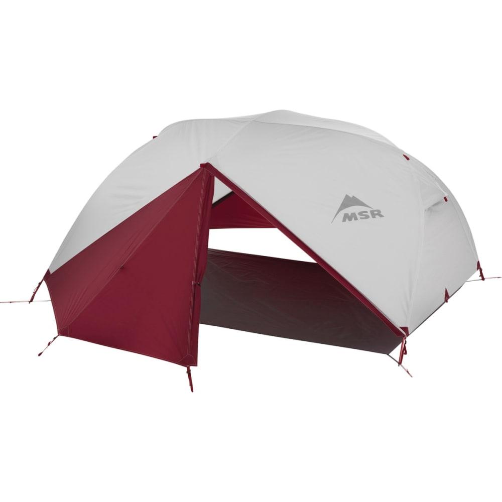 MSR Elixir 3 Backpacking Tent - WHITE/RED