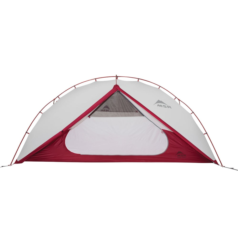 MSR Hubba Tour 2 Tent - WHITE/RED