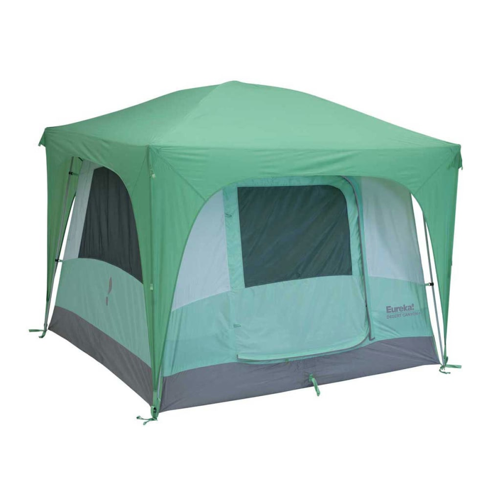 EUREKA Desert Canyon 4 Person Tent - FOLIAGE/QUIET GREEN