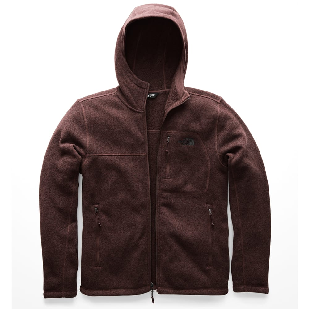 THE NORTH FACE Men's Gordon Lyons Full-Zip Hoodie - NYO-SEQUOIA RED HEAT