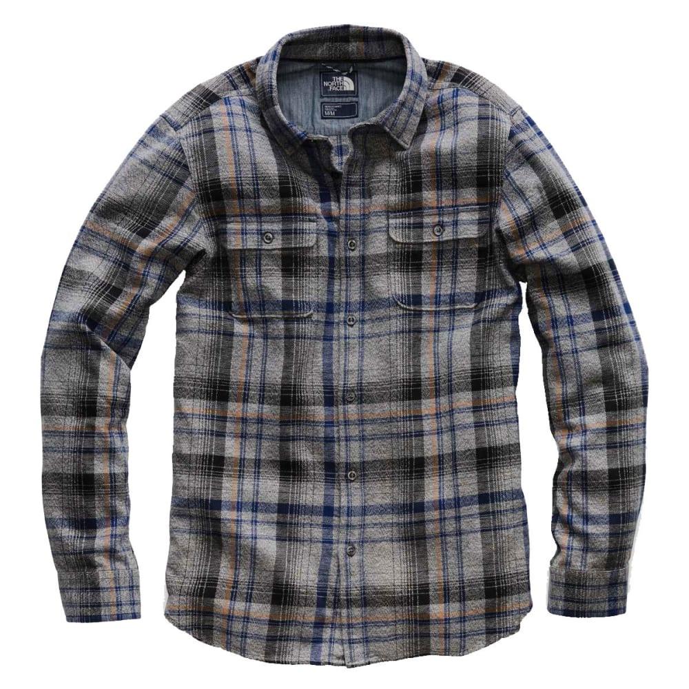 THE NORTH FACE Men's Arroyo Long-Sleeve Flannel Shirt - 6BU-ASPHALT GREY