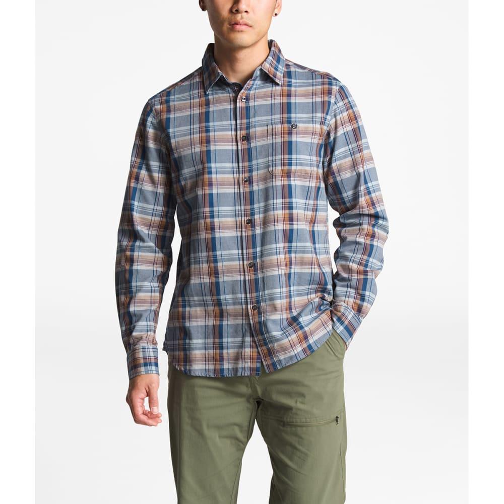 THE NORTH FACE Men's Hayden Pass 2.0 Long-Sleeve Shirt - 6BJ-MONUMENT GREY