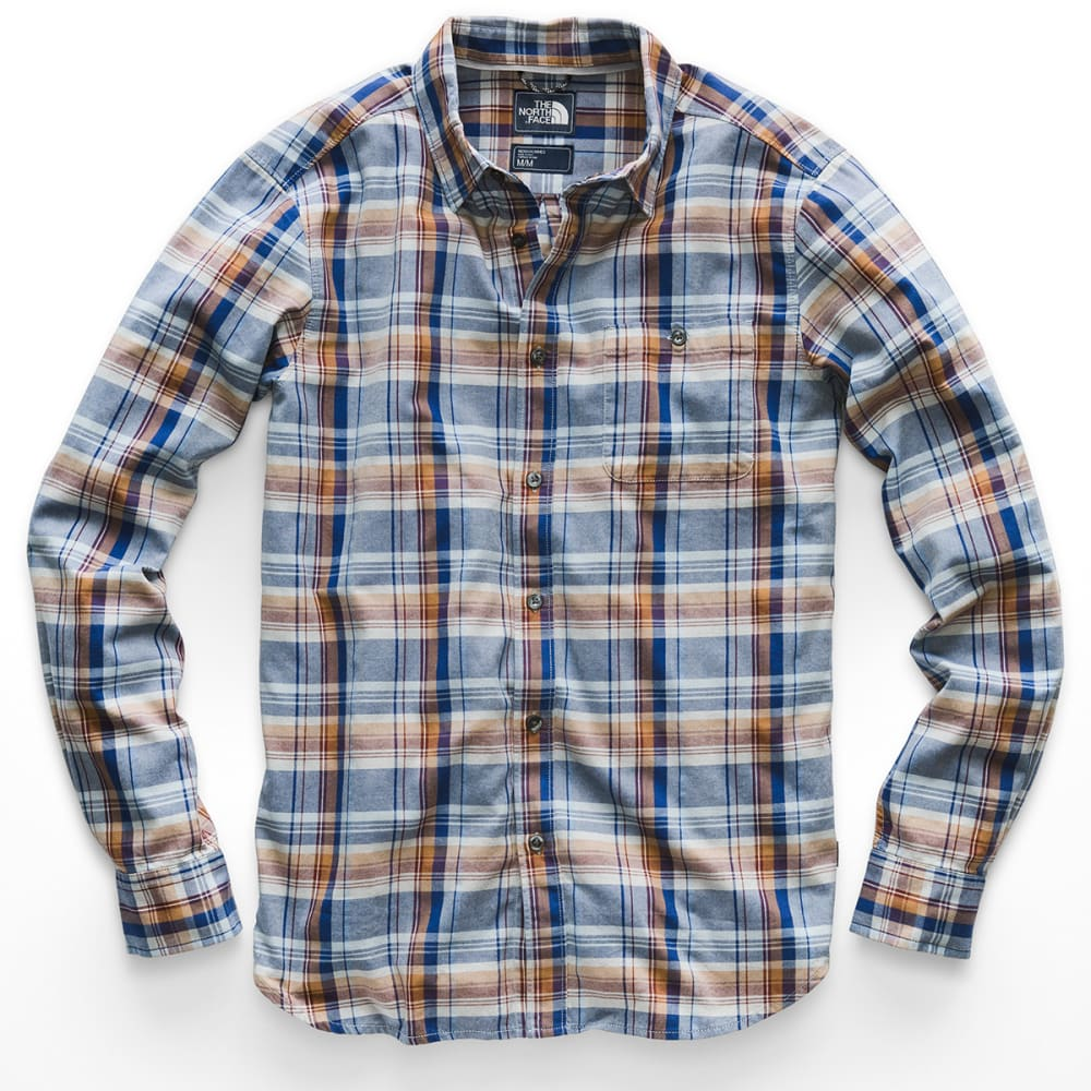 THE NORTH FACE Men's Hayden Pass 2.0 Long-Sleeve Shirt - 6BJ-MONUMENT GREY