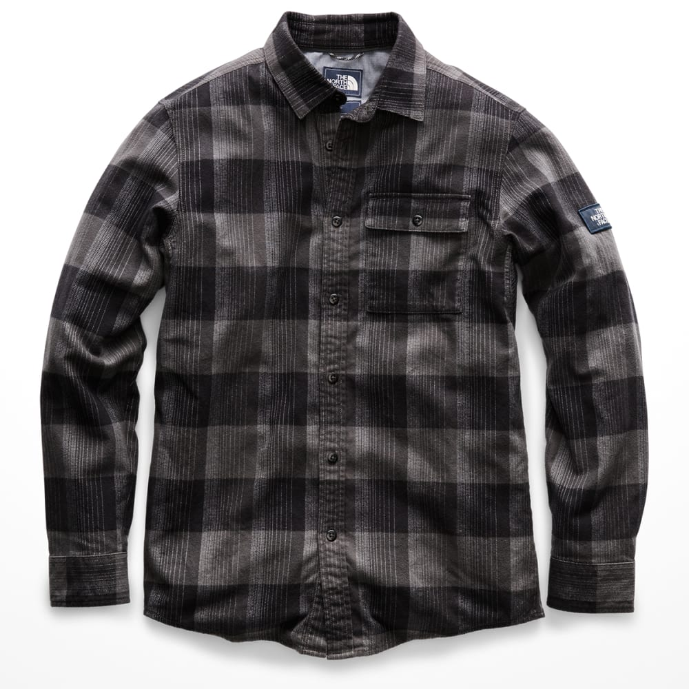 THE NORTH FACE Men's Stayside Long-Sleeve Shirt - 7PD- TNF BLACK BOWDI