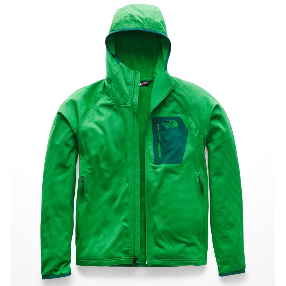 THE NORTH FACE Men's Borod Full-Zip Hoodie - 6WV PRIMARY GREEN