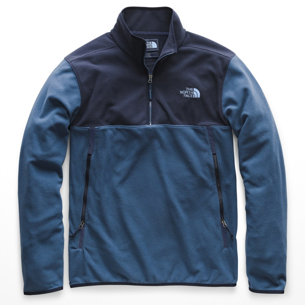 THE NORTH FACE Men's Glacier Alpine 1/4 Zip Pullover - LKM-SHADY BLUE