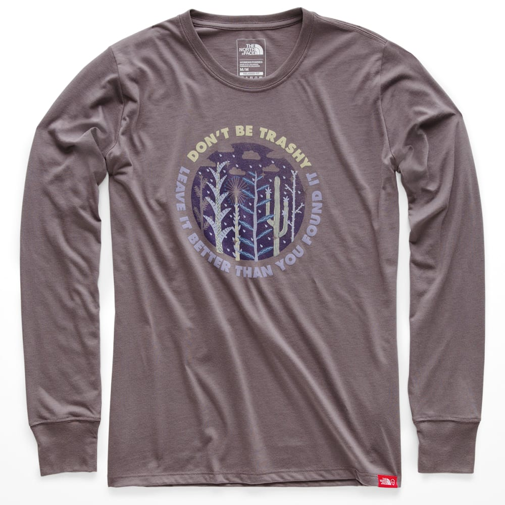 THE NORTH FACE Women's Bottle Source Long-Sleeve Tee - HCW-RABBIT GREY