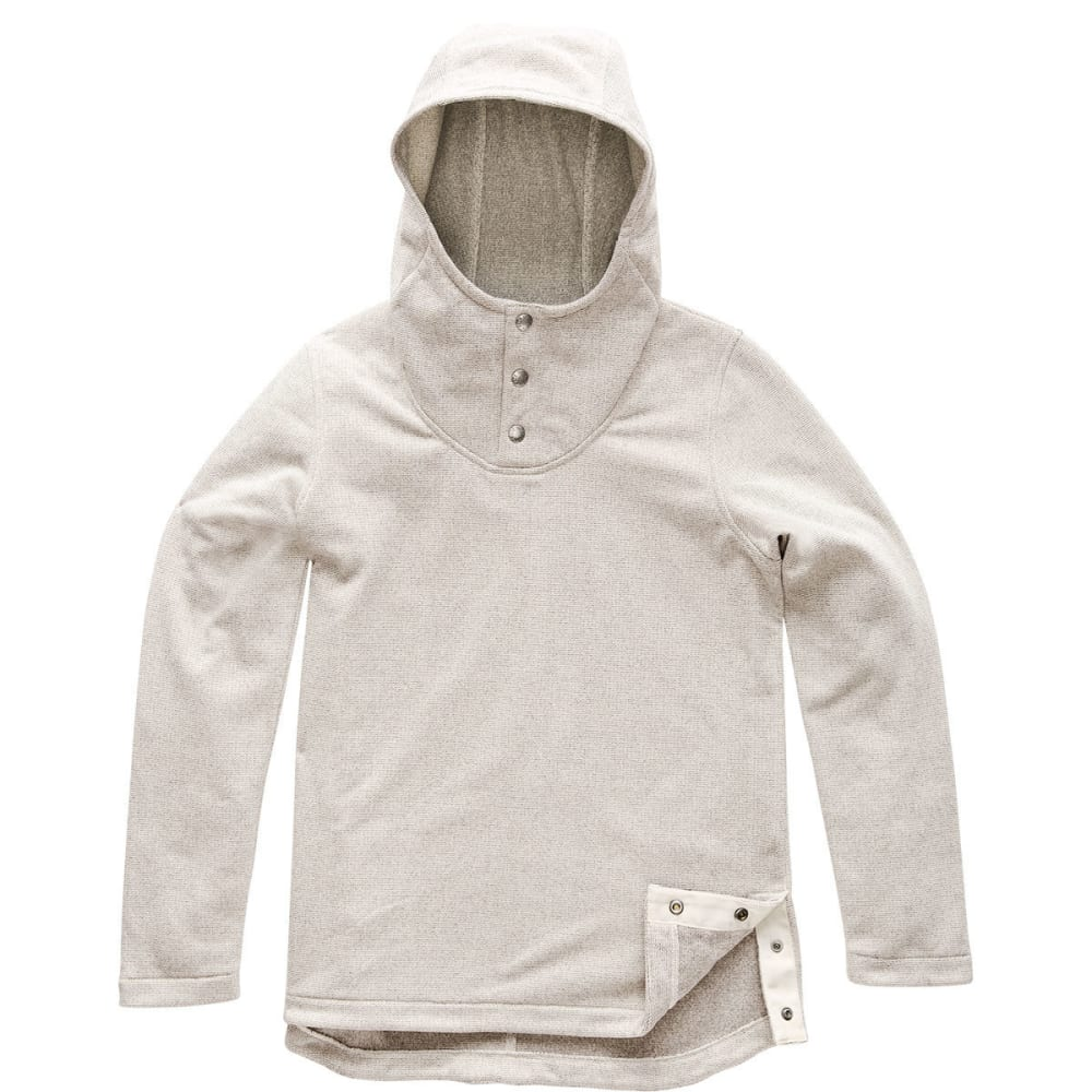 THE NORTH FACE Women's Knit Stitch Fleece Pullover - 1TG WILD OAT HEATHER