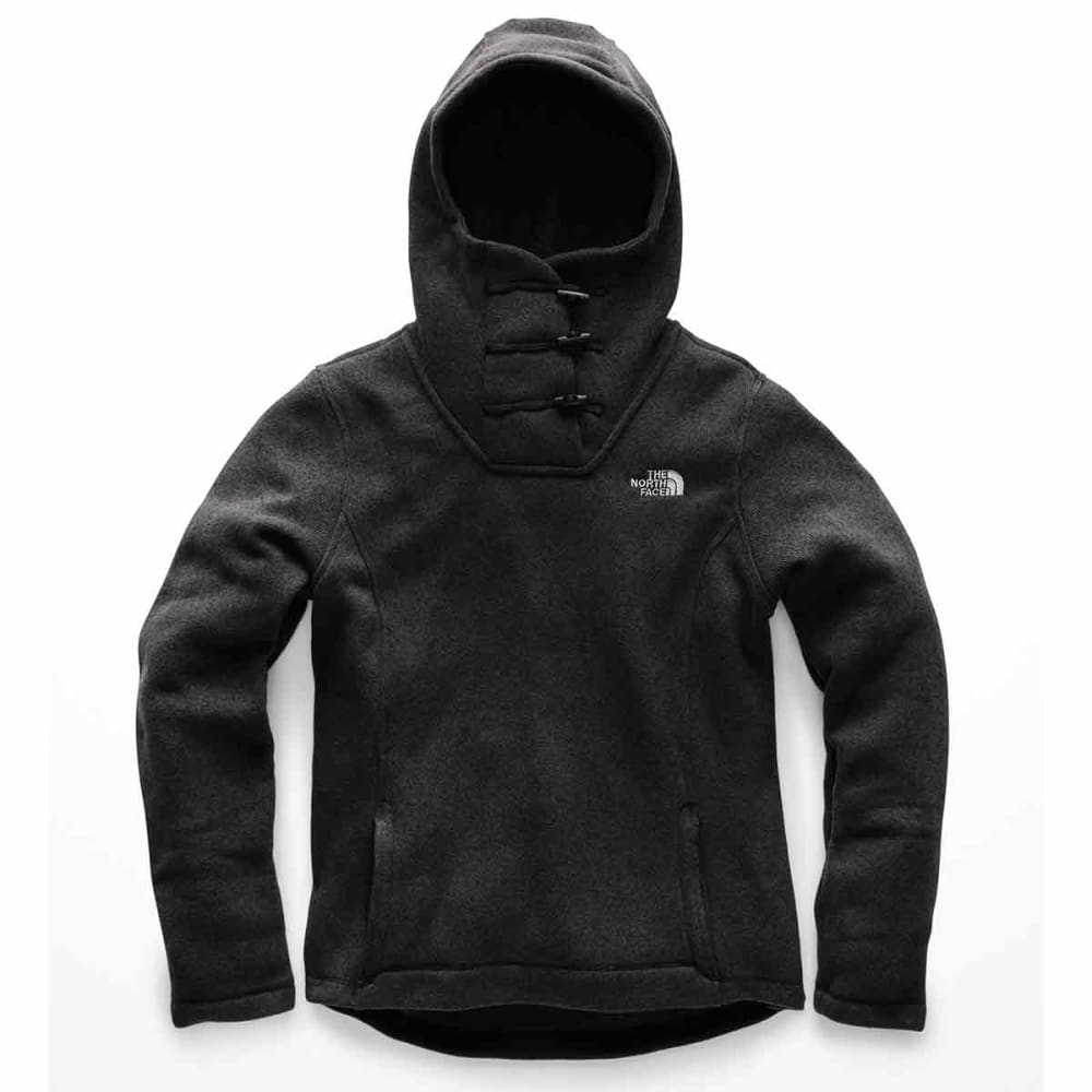 THE NORTH FACE Women's Crescent Hooded Pullover - KS7-THN BLACK HETR