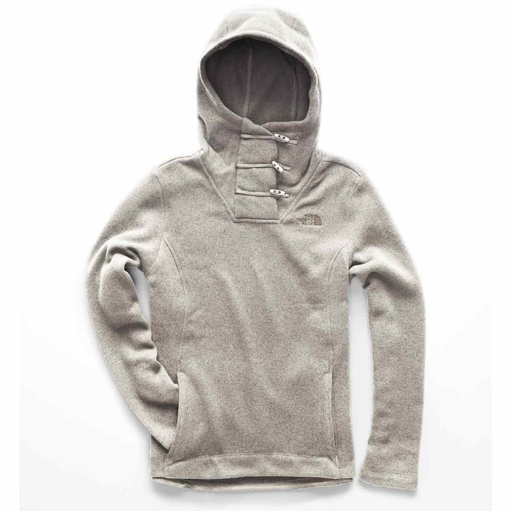 THE NORTH FACE Women's Crescent Hooded Pullover - 1TG-WILD OAT HETR